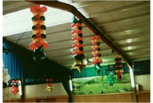 Luftballondekoration Deckenhänger
