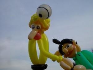 Luftballon Kopfball