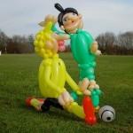 Luftballon Fußballer
