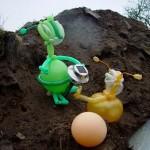 Luftballonfigur Alien