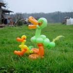 Luftballontier Enten