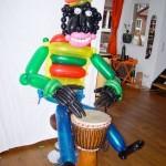 Luftballon Musik Blackman