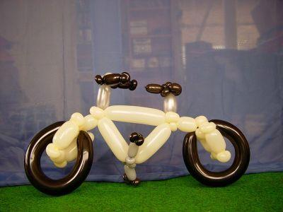 Luftballonkünstler Greven Luftballon Fahrrad