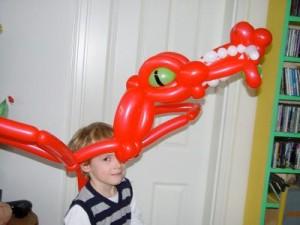 Luftballonhut Drachen