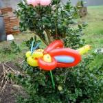 Luftballonfigur Schmetterling