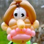 Luftballonfigur Papa