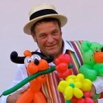 Luftballonkünstler Happu Krenz