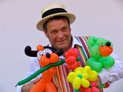 Ballonmodellierer Münster Luftballonkünstler Happu Krenz