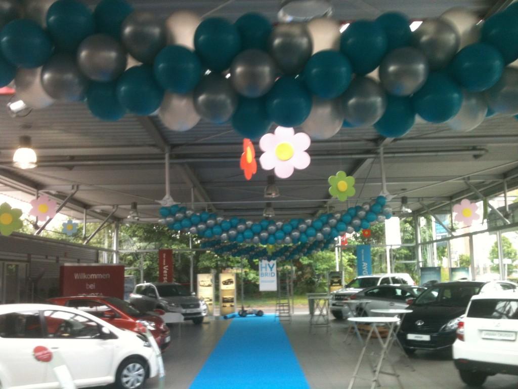 Luftballonkünstler Ibbenbüren Luftballongirlande
