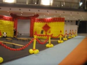 Asia Luftballon Dekoration