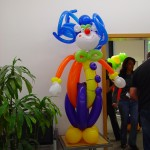 Luftballondekorationen Luftballon Clown