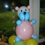 Luftballondekorationen Luftballongeschenk großer Bär