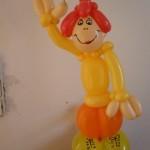 Luftballondekorationen Ballon Puppe 2