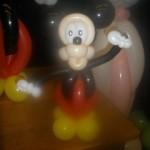Luftballondekorationen Ballon Micky Maus