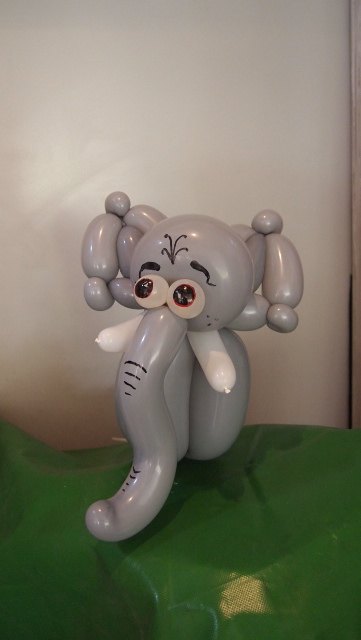 Luftballonkünstler Gießen Elefant