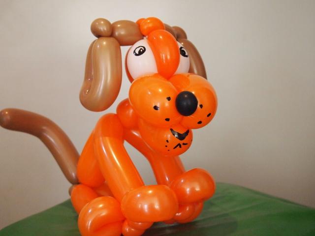 Luftballonkünstler Osnabrück Hund sitzent