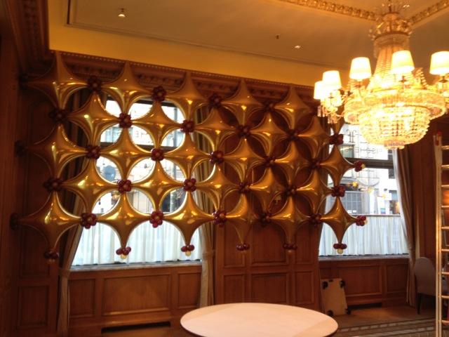 Galerie Ballondekorationen Starpoint Hintergrund oder Raumteiler
