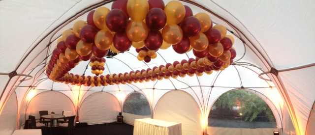 Ballondekoration Luftballon Girlanden Oval