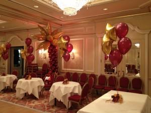 Luftballonkünstler Wilhelmshaven dekorierter Ballsaal