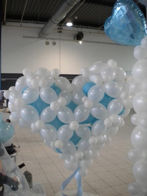 Galerie Ballondekorationen Herzvariante 1 m Durchmesser