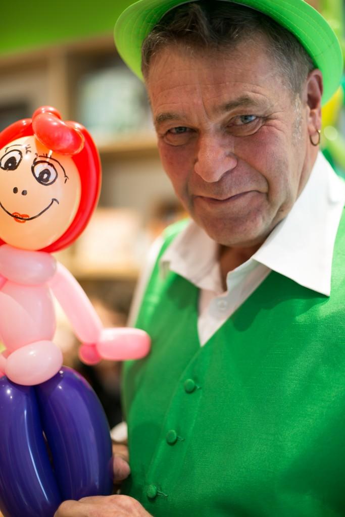 Luftballonkünstler Moers Happu Krenz